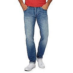Lee - Blue light wash 'Darren' regular fit jeans