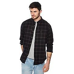 Lee - Black checked shirt