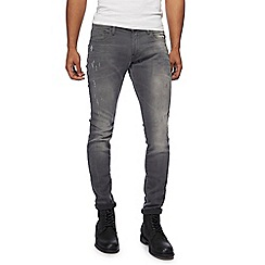 G-Star - Grey 'Revend' '3301' superslim jeans
