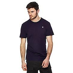 G-Star - Purple pique logo t-shirt