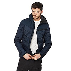 G-Star - Blue quilted coat