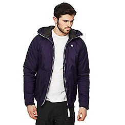 G-Star - Purple padded coat