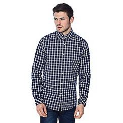 G-Star - Blue mini check print shirt