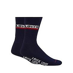 Levi's - 2 pack navy socks