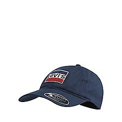 Levi's - Navy embroidered logo baseball cap