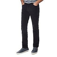 Levi's - Black '511' 'Mineral Wrap' slim corduroy trousers