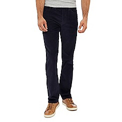 Levi's - Big and tall blue '514' 'nightwatch' straight fit corduroy trousers