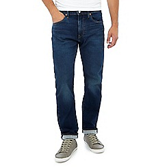 Levi's - Blue mid wash '502' tapered fit jeans