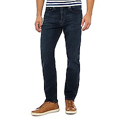 Levi's - Navy dark wash '502' 'Headed South' tapered fit jeans