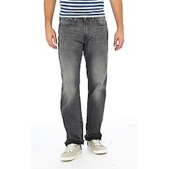 Levi's - Grey mid wash '514' 'Asphalt' straight fit jeans