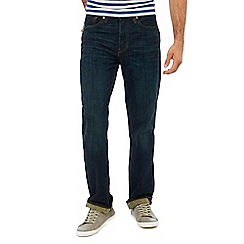 Levi's - Blue mid wash '514' 'Brick Road' straight fit jeans