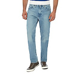 Levi's - Blue light wash '502®' tapered jeans