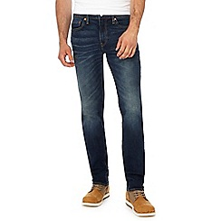 Levi's - Big and tall blue vintage wash '511®' slim jeans