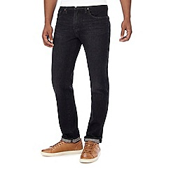Levi's - Big and tall dark blue dark wash '511' slim fit jeans