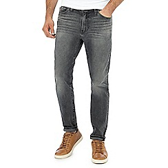Levi's - Dark grey mid wash '510 Luther' skinny jeans