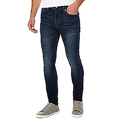 Levi's - Blue mid wash '510' skinny fit jeans