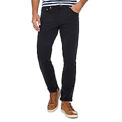 Levi's - Black '511' slim twill trousers