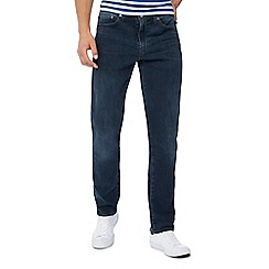 Levi's - Big and tall blue mid wash '511' slim fit jeans