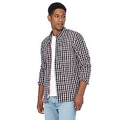 Levi's - Red check print shirt