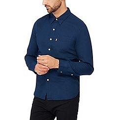 Levi's - Blue 'Sunset' long sleeves regular fit shirt