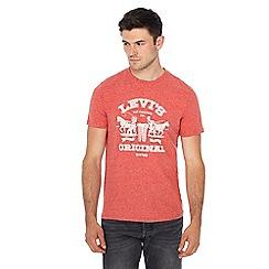 Levi's - Red logo print t-shirt