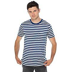 Levi's - Blue striped print t-shirt