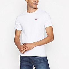 Levi's - White logo tab t-shirt