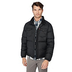 Levi's - Black 'Barstow' puffer jacket