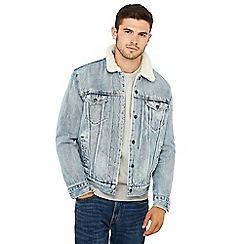 Levi's - Light blue 'Stonebridge Trucker' denim jacket