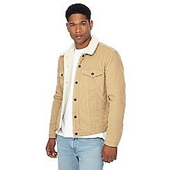 Levi's - Tan corduroy Sherpa jacket