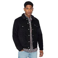 Levi's - Black corduroy Sherpa jacket