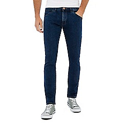 Wrangler - Blue 'Bryson' mid wash skinny fit jeans
