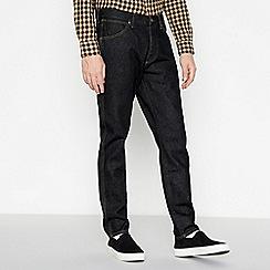 Wrangler - Dark Blue 'Slider' Tapered Fit Jeans