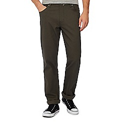 Wrangler - Green 'Texas' regular fit jeans