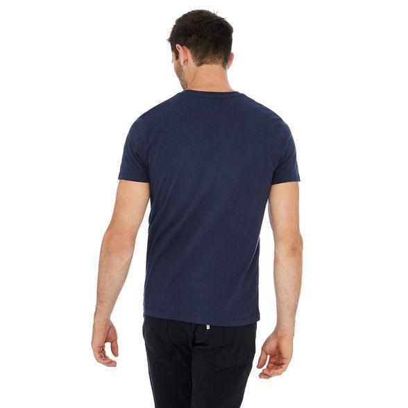 eagle cotton shirt Navy Wrangler print t 5qnUwt1