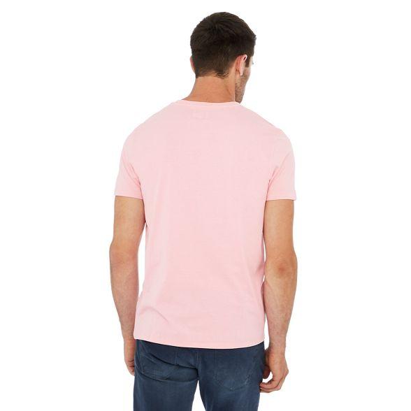print cotton t Pink shirt Wrangler graphic wBtERI