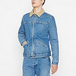 Wrangler - Light Blue Denim 'Hawkins' Jacket