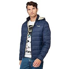 Wrangler - Navy padded jacket