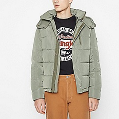 Wrangler - Khaki Padded Protector Jacket