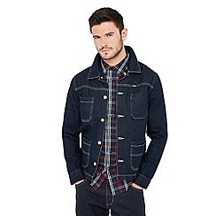 Wrangler - Dark blue denim 'Carpenter' jacket