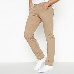 Lee - Beige 'daren' regular fit jeans