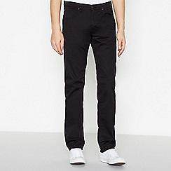 Lee - Black 'Daren' Straight Fit Jeans