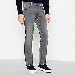 Lee - Grey Mid Wash 'Darren' Slim Fit Jeans