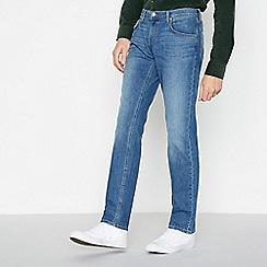 Lee - Blue Mid Wash 'Darren' Slim Fit Jeans