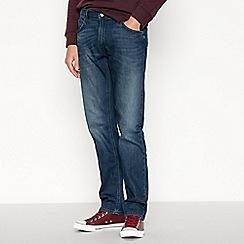 Lee - Dark blue 'Darren' slim fit jeans