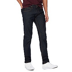 Lee - Dark blue rinse wash 'Darren' slim fit jeans