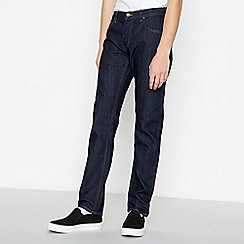 Lee - Dark Blue 'Darren' Slim Fit Jeans