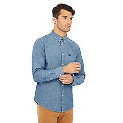 Lee - Blue button down collar shirt