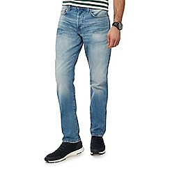 G-Star - Blue light wash '3301' tapered jeans