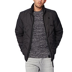 G-Star - Black quilted bomber jacket